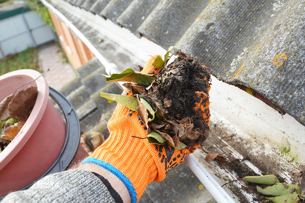 Leaf and Debris Removal - Leaf and debris removal is an integral part of general roof maintenance.