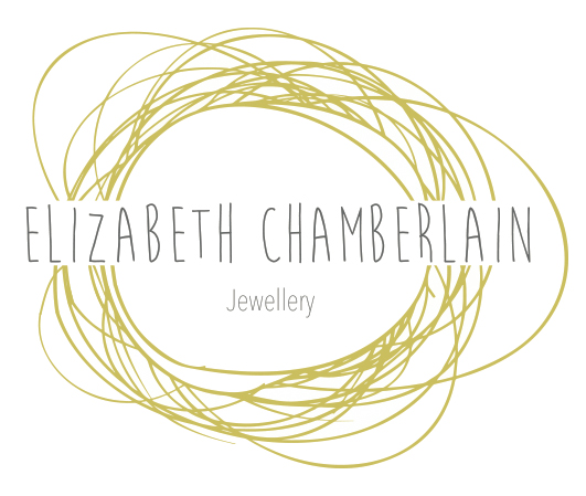 Elizabeth Chamberlain hammered wedding rings