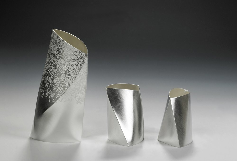 Optical Vases - Sterling Silver - E.Lord.jpg