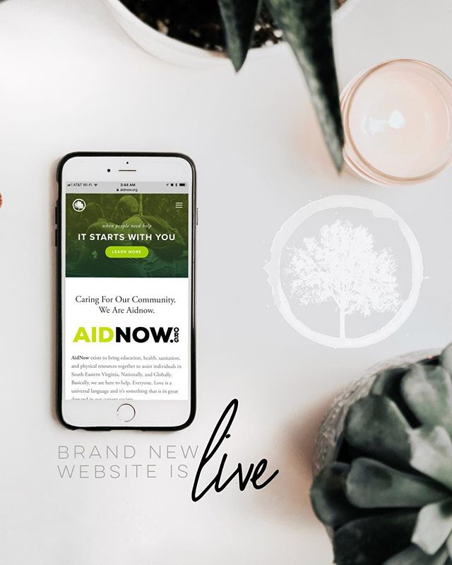 Brand New Site!📱💻⌨️ ____ We recently overhauled our website from the ground up. Take a peak, look around, and sign up to volunteer for this year's #projectjumpstart  ____ Online at http://aidnow.org