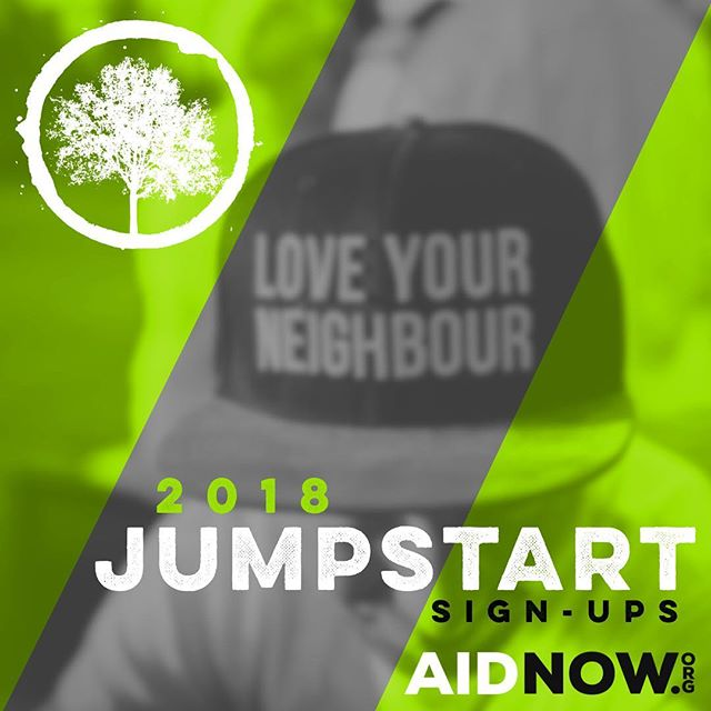 "It's Party Time Everybody! ____ Sign ups for Project JumpStart on Aug 22-23 are LIVE! 🙌🏼🎉🎈We cannot wait to serve alongside you at this amazing event to help homeless children & families in Virginia Beach.  ____ Head over to http://aidnow.org and click the ""Sign Up for JumpStart 2018"" button 👍🏼"