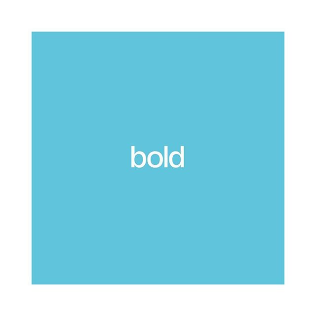 So, what does it actually mean to be a BOLD person or brand to you? . I think the big misunderstanding of this word can feel like overpowering or overriding when it really should mean you confidently, with grace, stepping into the shoes you were born to fill. That can be as a CEO or mom or college student. Bolding being who you need to be, nothing more, nothing less.