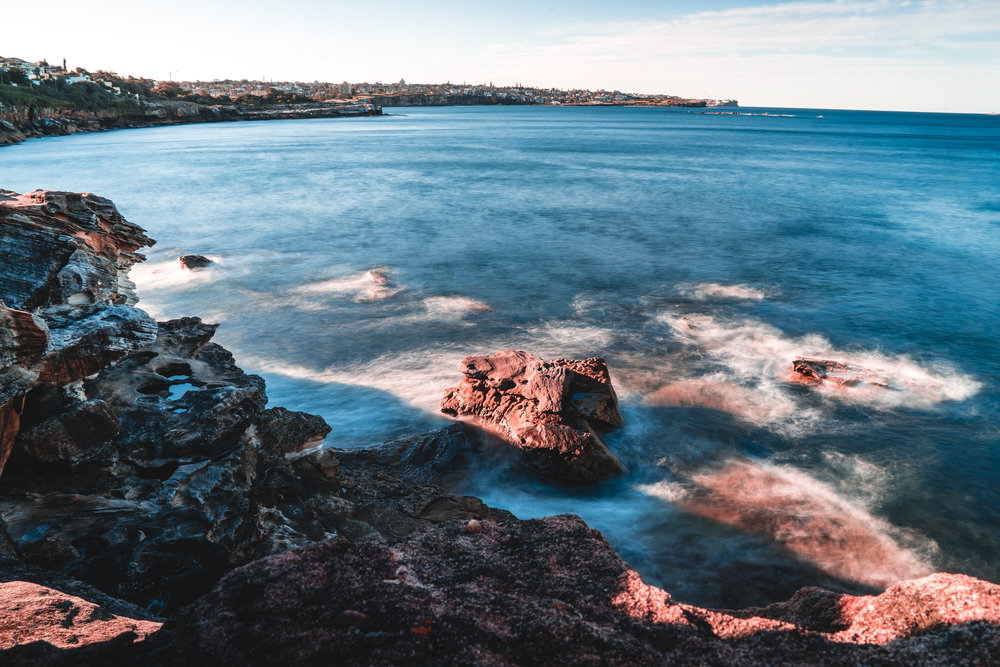 Ivor row rockpool in south coogee Australia -