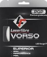 LaserFibre Vorso 17g/1.23mm   String Cost: $12.50   Strings + Stringing: $30