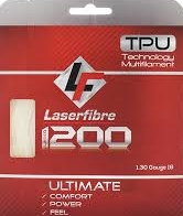 LaserFibre Laser 1200 16g/1.30mm Set    String Cost: $14.50 Strings + Stringing: $32