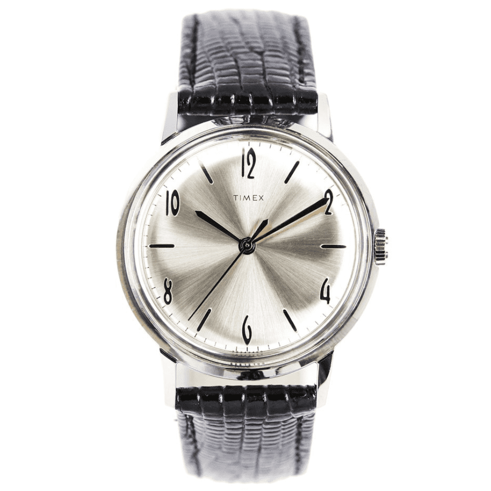 TIMEX MARLIN WATCH - This is the nicest watch you can buy under $200 new. It's a classic from a classic brand.SELLOUT RISK: LOW MED HIGHPurchase now at toddsnyder.com for $199.00