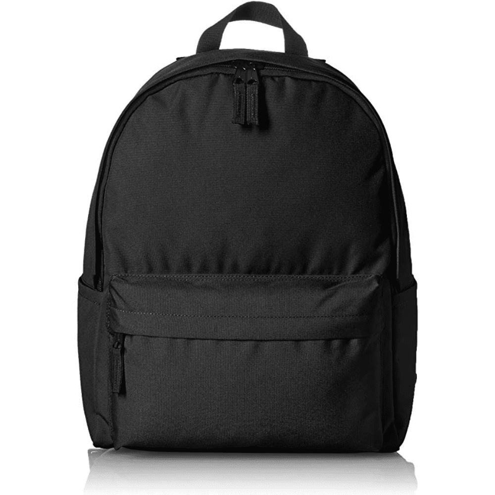 AMAZON BASICS BACKPACK - If you need a spare bag for the gym or when traveling this is a great option. It only costs $15 dollars! Nothing I would haul around my Macbook in but some clothes or shoes, definitely.Purchase now at amazon.com for $15.10