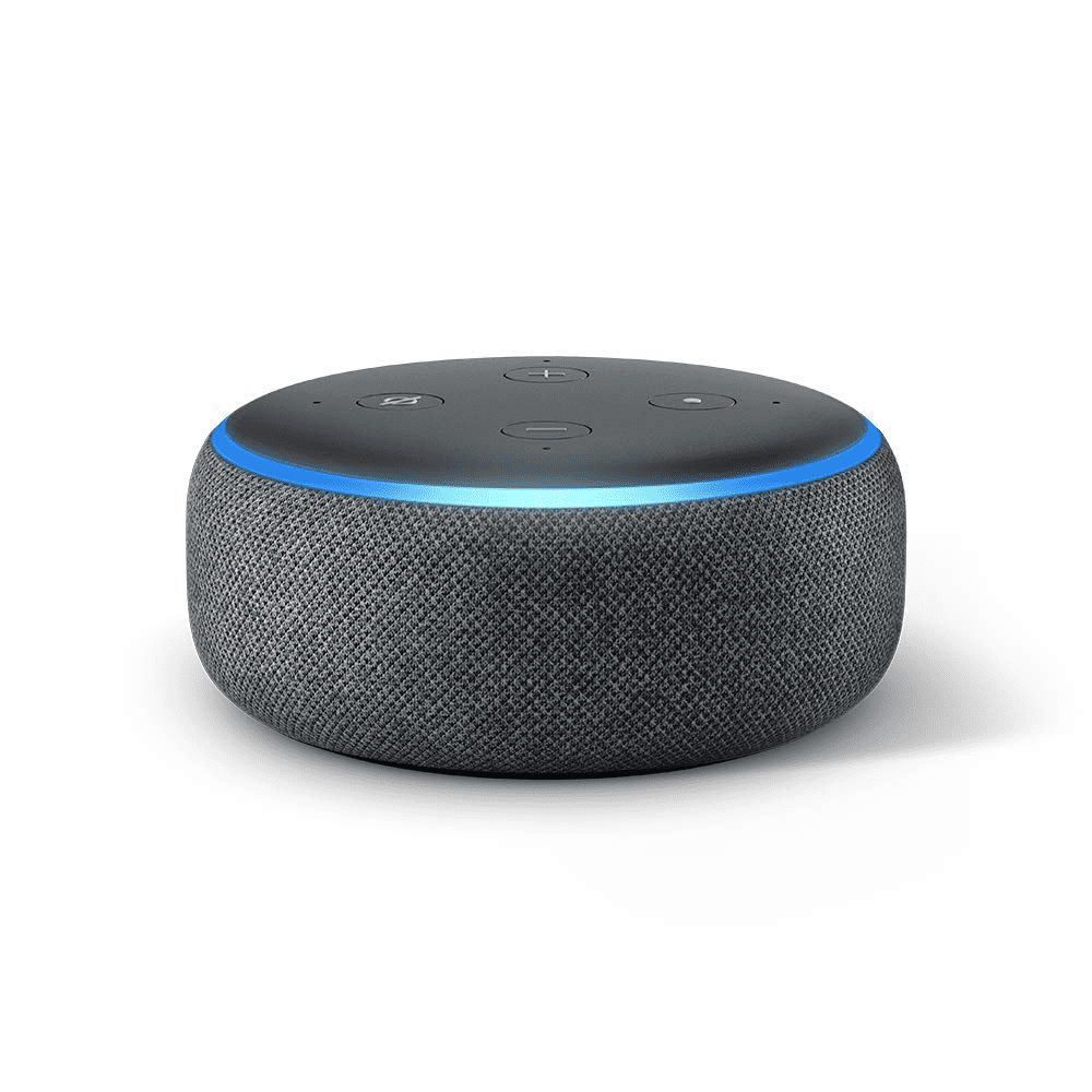 AMAZON ECHO DOT - A perfect gift to give when you're just not sure what to give. I guarantee whoever is receiving this will find a use for it.Featured in Best Gifts for Under $50Purchase now at amazon.com for $29.99
