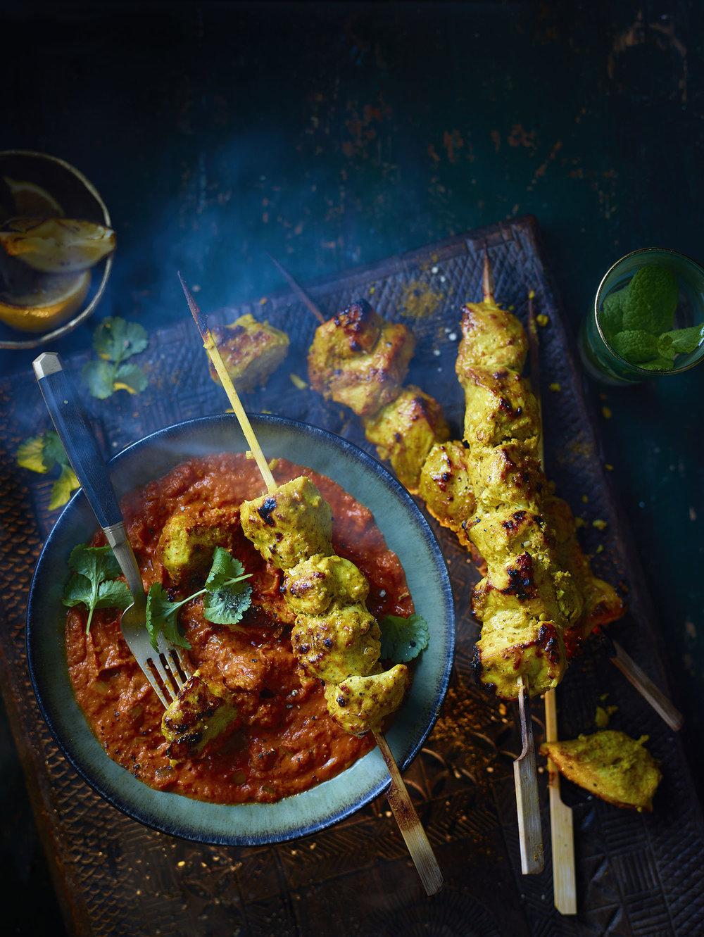 Chicken Makani Photograph Myles New Prop Styling Tonia Shuttleworth Recipe Gabriella English