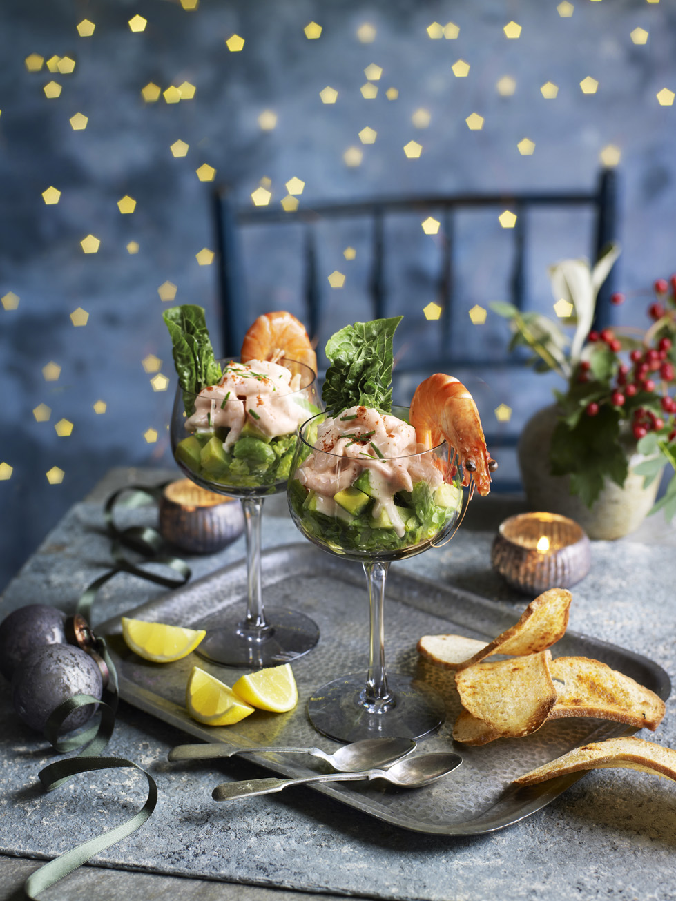 Ultimate Prawn Cocktail Photograph Kate Whitaker Prop Styling Olivia Wardle