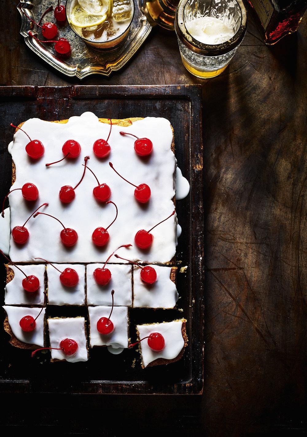 Amaretto Sour Cake Photograph Kris Kirkham Prop Styling Olivia Wardle Recipe Madeline Burkitt