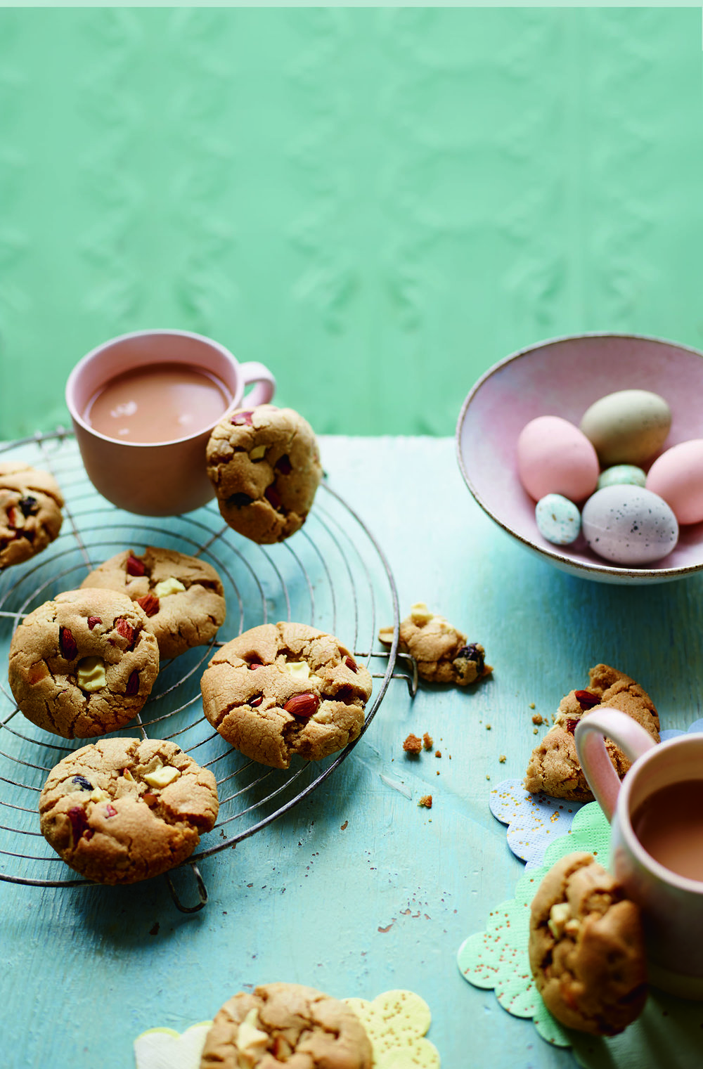 Simnel Cookies Photograph Maja Smend Prop Styling Olivia Wardle