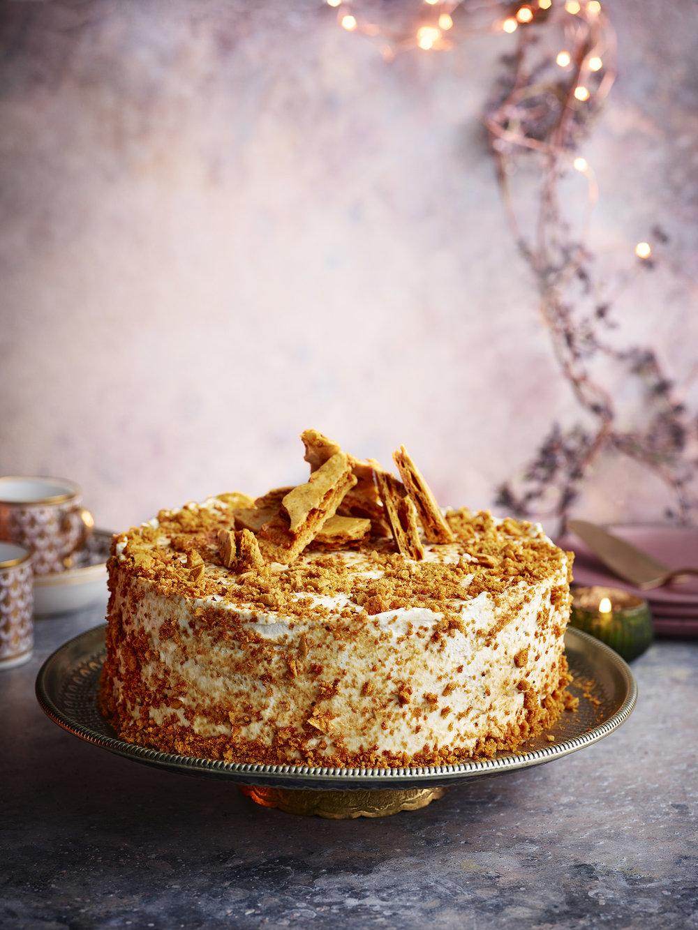 Honey Comb CakePhotograph Gareth Morgans Prop Styling Olivia Wardle Recipe Rick Stein