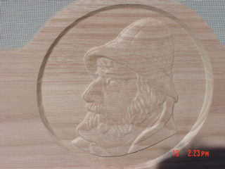 Carved Old Mariner   $500
