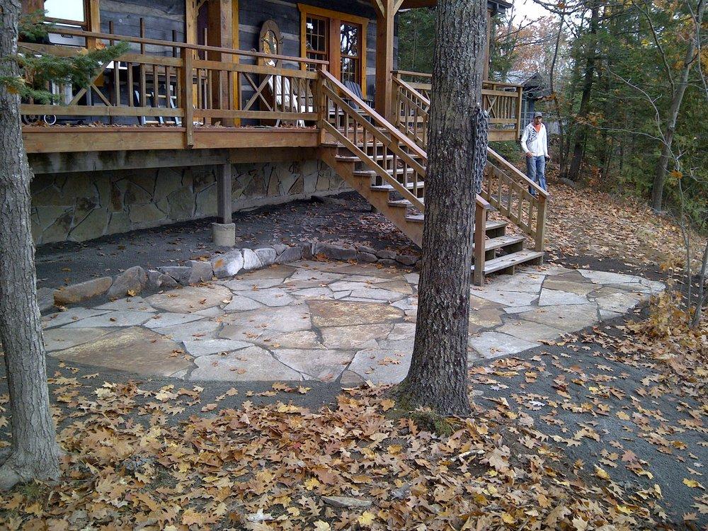Flat Stone Pathway