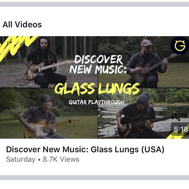 Our Guitar/Bass playthrough for the song Casting Stones is Live NOW on @ultimateguitar's Facebook 🔥🔥🔥