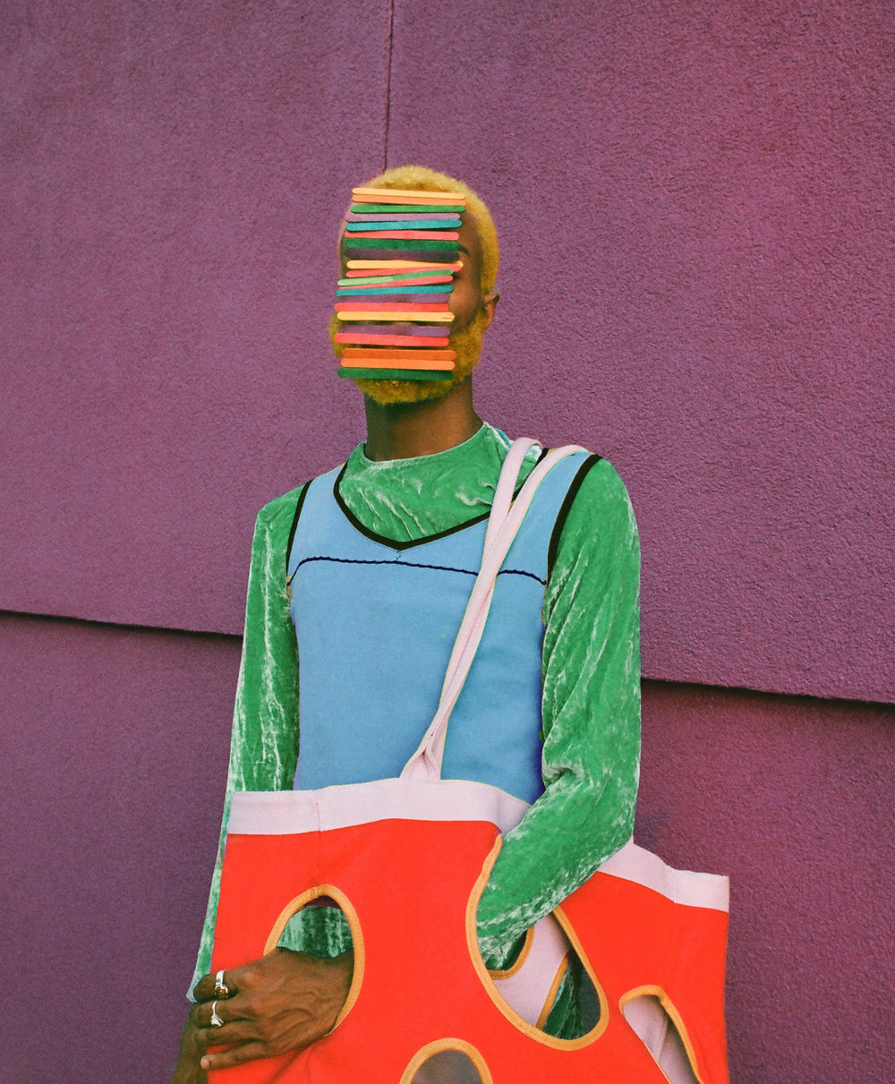 Arielle Bobb-Willis - Between grace and awkwardness lies a colorful world of textile and concrete.Portfolio crush