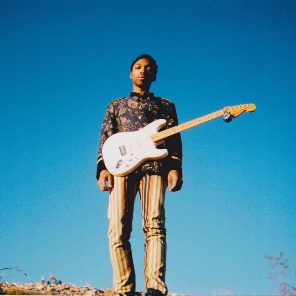 "Red Love: Chords, collabs & electric soul with Julian Bell - Bell talks guitars, friendship, and desert dreamscapes ahead of his debut EP ""A Rough Draft.""fresh sounds"