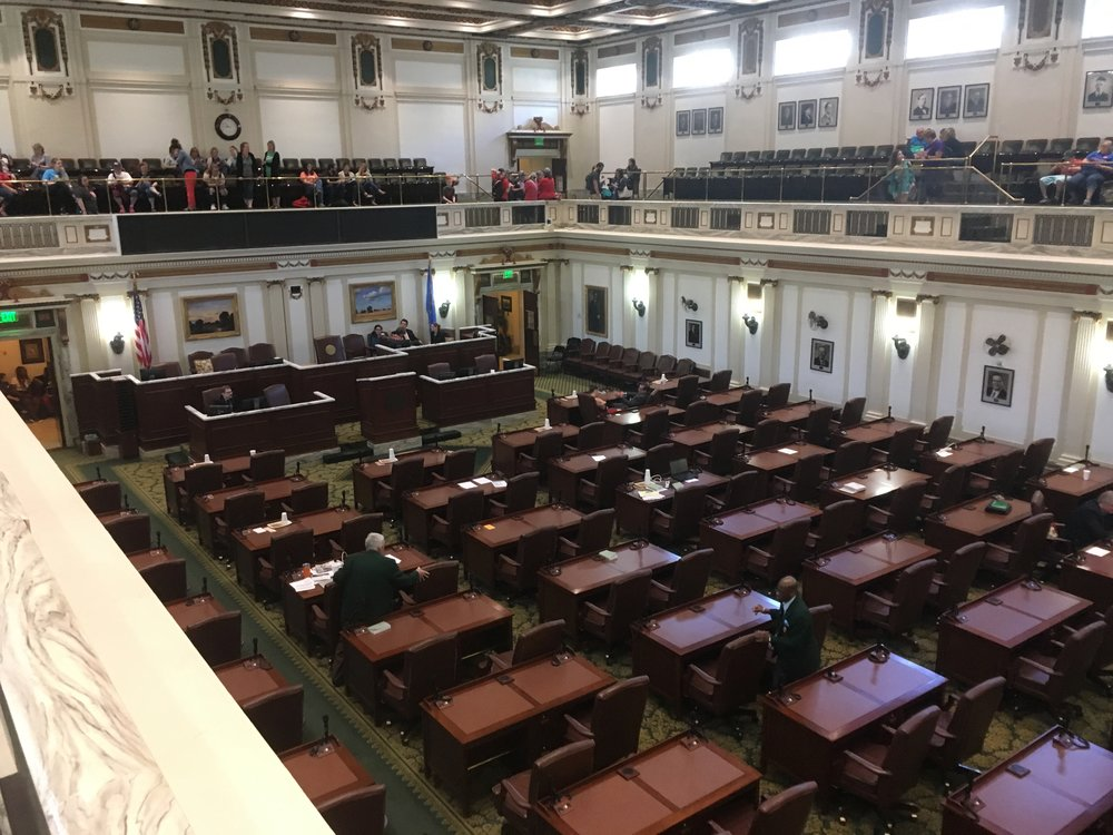 Legislators would often adjourn for the day at 10am, not arrive to the chamber until 3pm, and perform other avoidance tactics.
