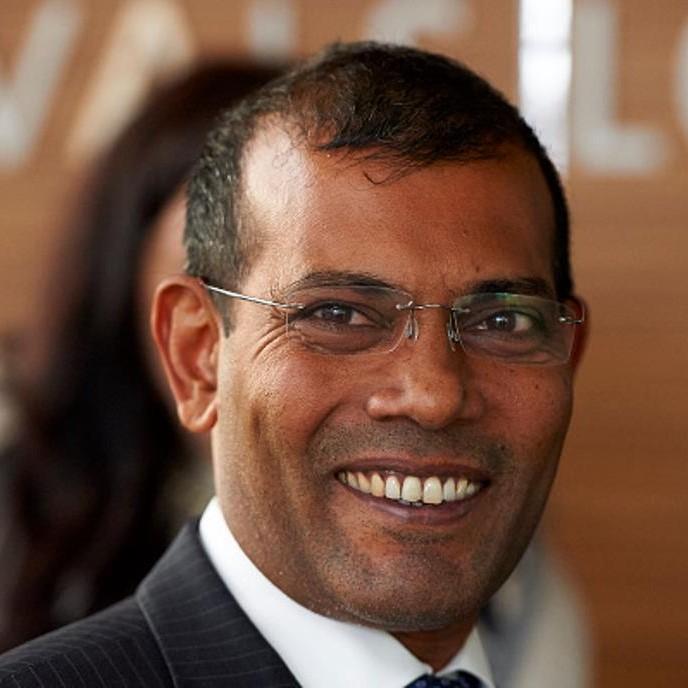 Mohamed Nasheed  (Maldives)  Human rights activist, former democratically elected President, and political prisoner