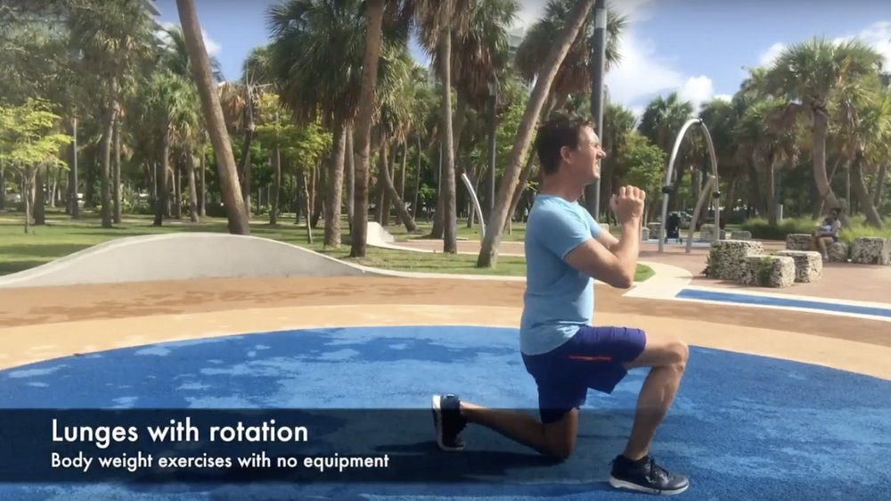 Lunges Variations
