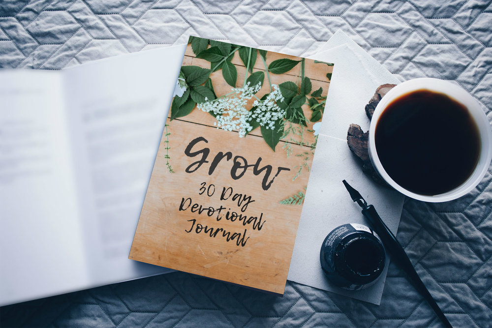 grow devotional journal - $20