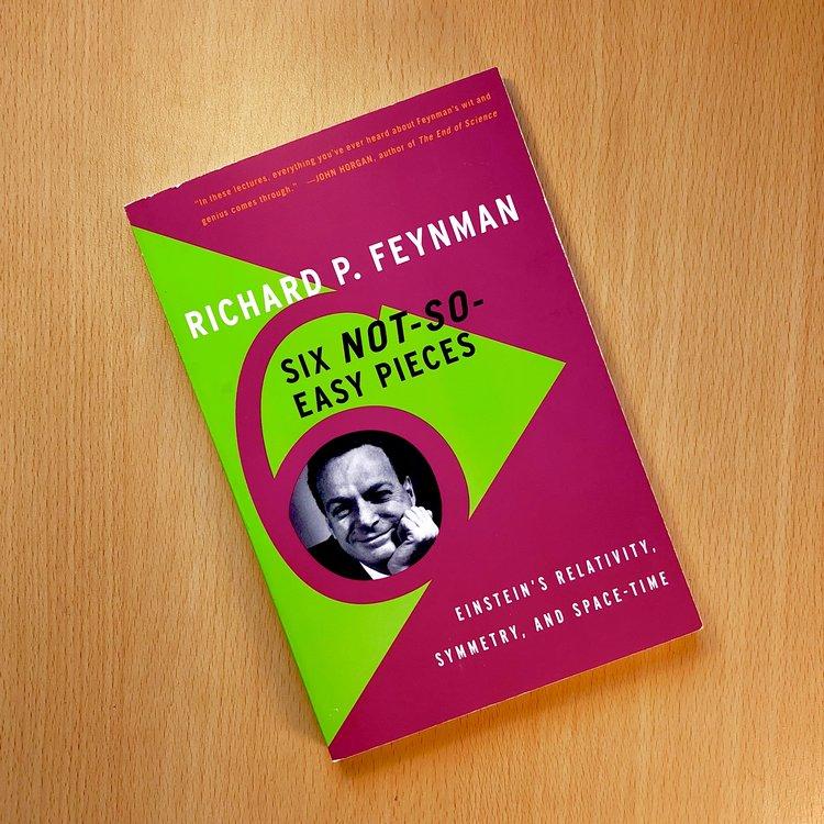 Six Not So Easy Pieces Richard Feynman