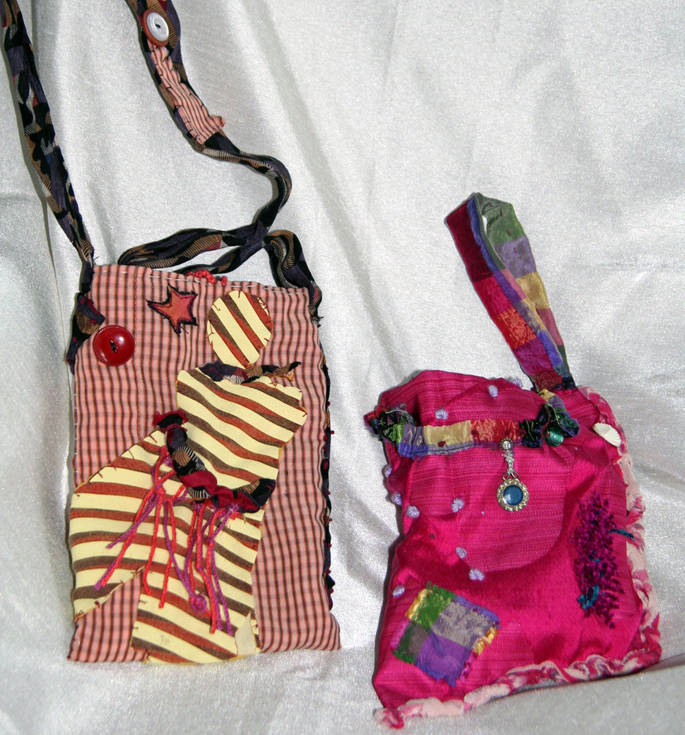PIZAZZ BAGS ~ Repurposed textile
