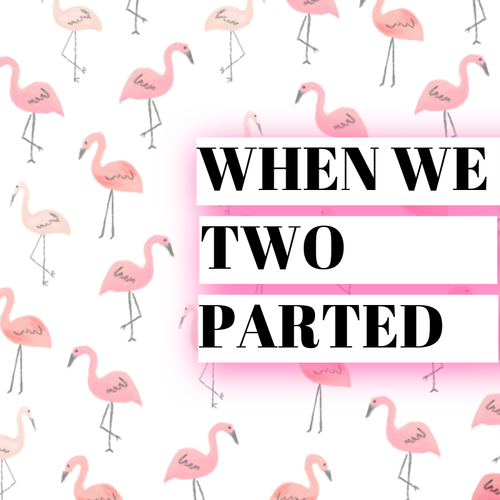 when we two parted meaning