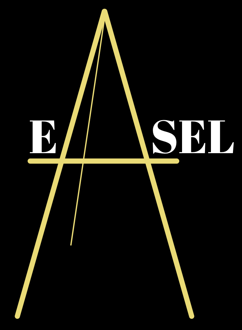 VISUAL DESIGN - I created the logo. The physical easel meets letter A tested well with our users.