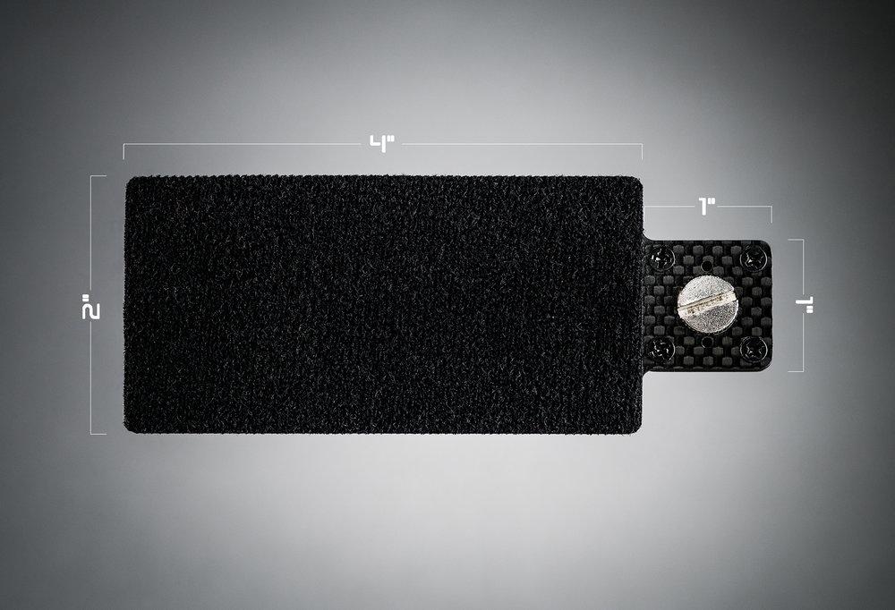 Ecto plate CF 2x4 dimensions
