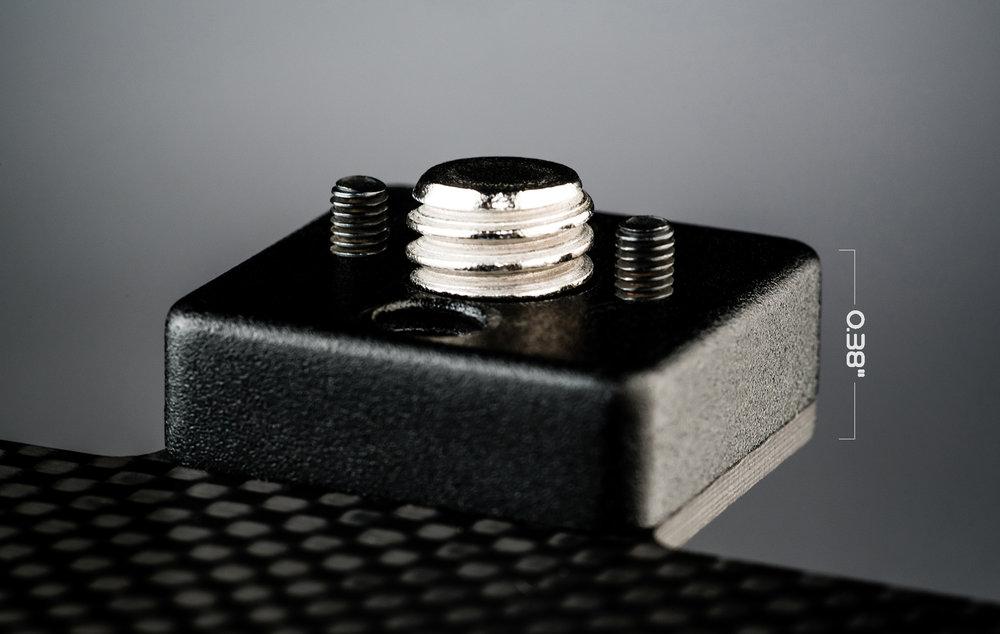 Ecto plate CF mounting block depth