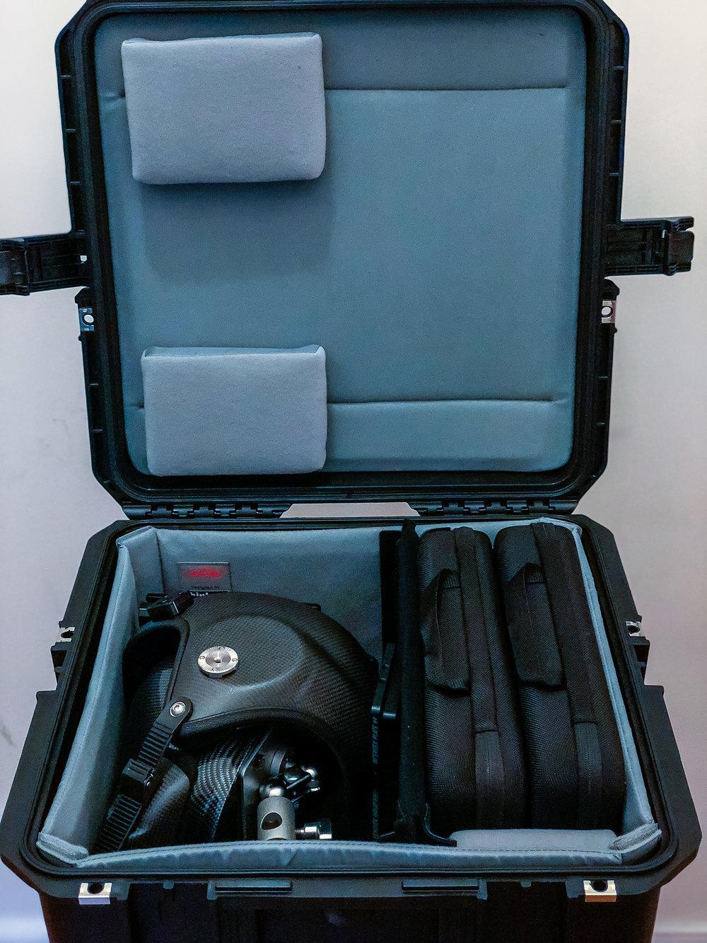 Case interior view