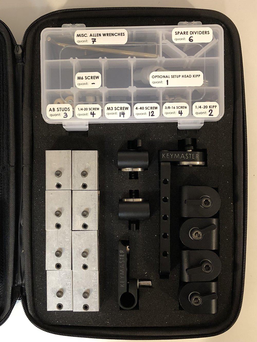 Rigging kit storage