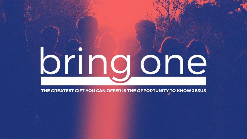 Bring One - 3/18/2018 - 3/25/2018