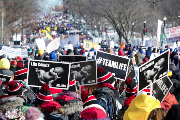 Despite bitter cold in 2014, hundreds of thousands marched for life in Washington, DC (Photo: Jeffrey Bruno /   Flickr   )
