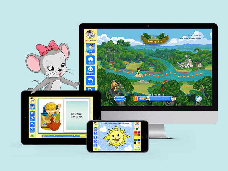 ABC Mouse childhood learning app