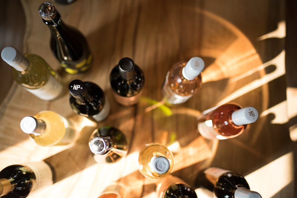Nocking Point Wine - bottles on a table