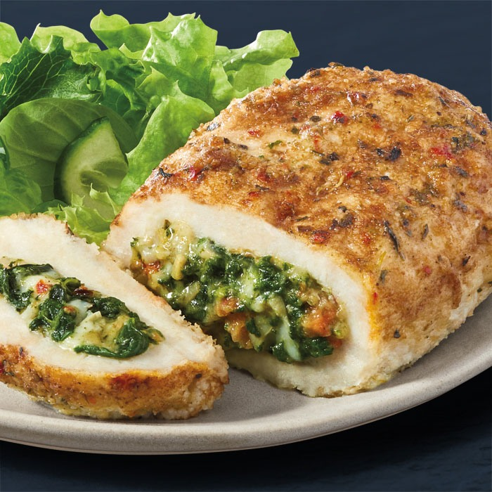Stuffed Chicken Breast - With Artichoke and Spinach