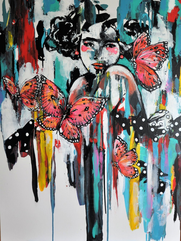Mariposas en Abril