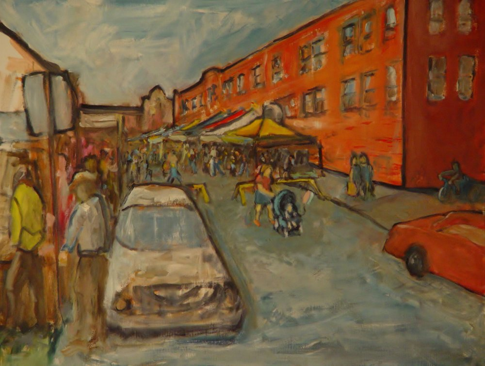 Art Fair on Oliver Street