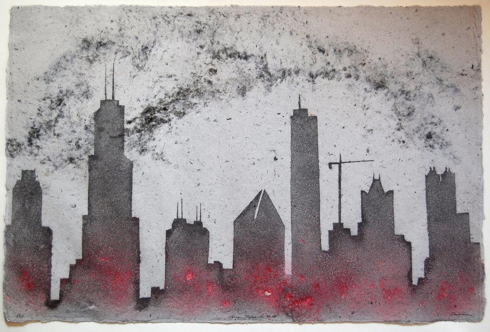 Chicago Skyline No. 22
