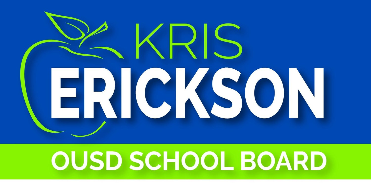 Erickson for OUSD School Board 2018