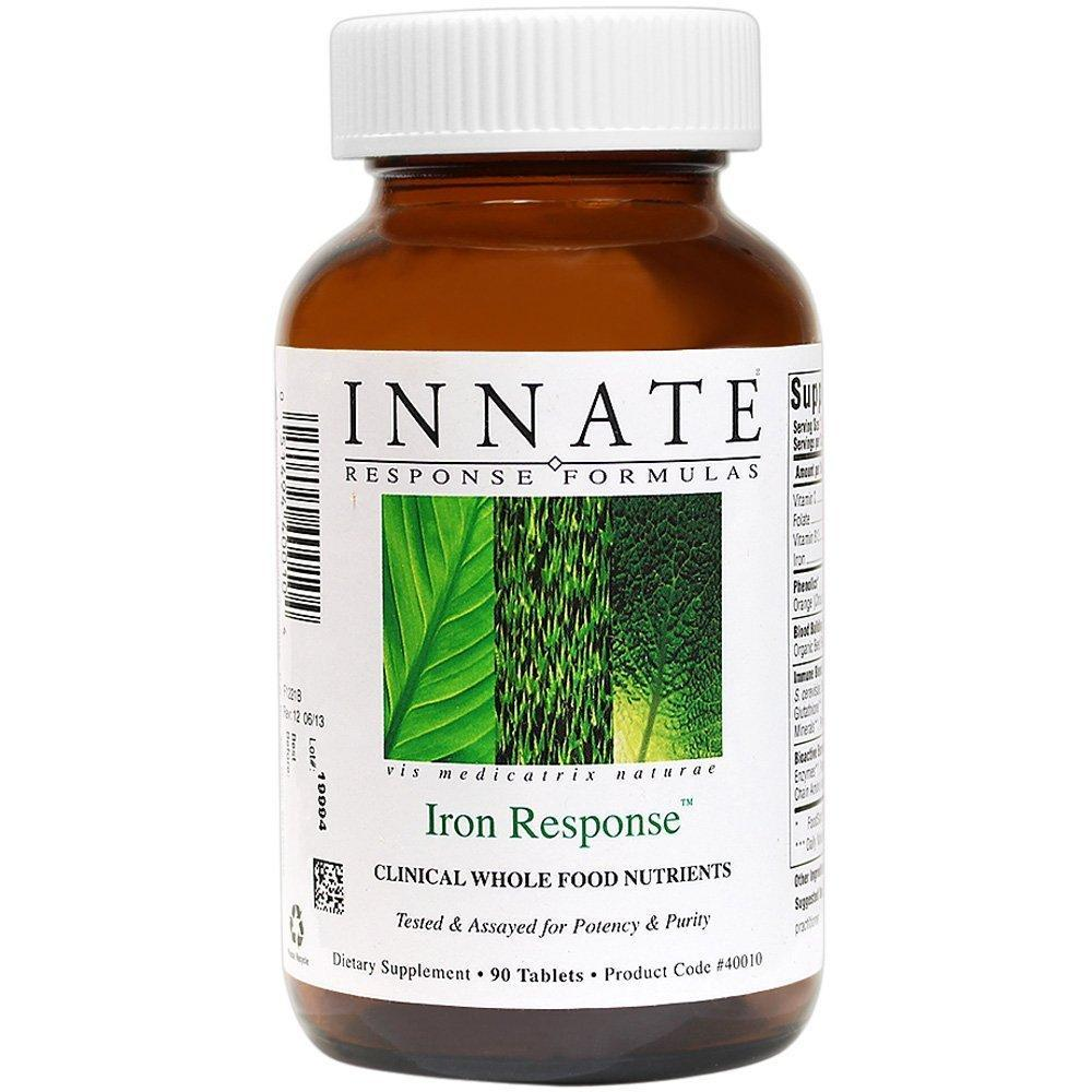 Iron Response    Equilibrium Nutrition chose Iron Response as our top pick for an iron supplement that was made completely from food.  The issue with iron is that it can oxidize and create free-radical damage in the body when given in a synthetic or metallic form, which is why we opted for the safer, cleaner version.