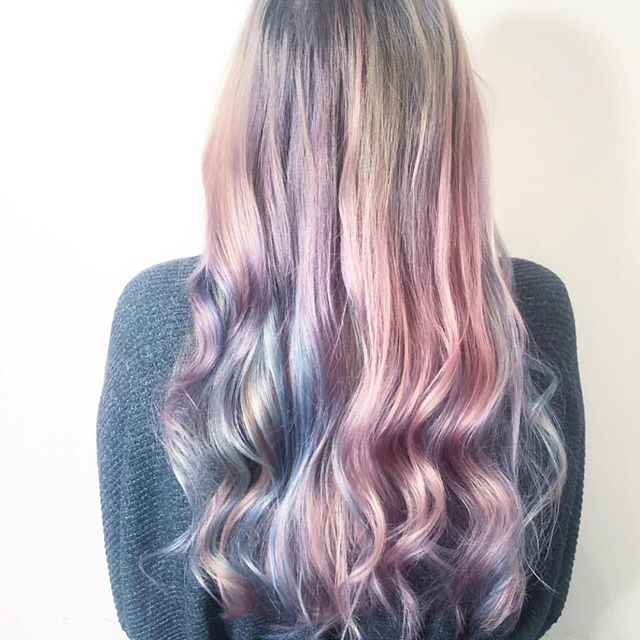 Boss lady being all creative and we love it 😍😍😍😍😍 ☎️ 01612229009 www.thefunkyrouge.pink  #creativecolour #pinkhair #bluehair #greyhair #lilachair #hairfashion #haircolour #hairtrends  #loreal #smartbond #hairideas #hairdresser #hairdressermagic #creativity #hairdresserlife✂️ #funky #altrincham