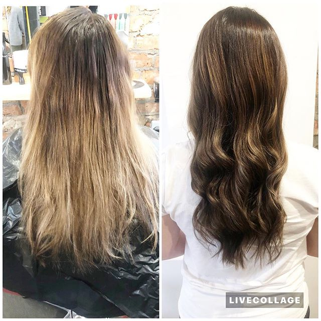 BOSS LADY DOES NATURAL LOOKS TOO🤪 ☎️ 01612229009 www.thefunkyrouge.pink  #balayage #haircolor #colourcorrection #hair #hairdresser  #loreal #hairfashion #hairtrends #hairdresserlife✂️ #hairchallenge #picoftheday #funky #altrincham