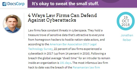 4 Ways Law Firms Can Defend Against Cyberattacks