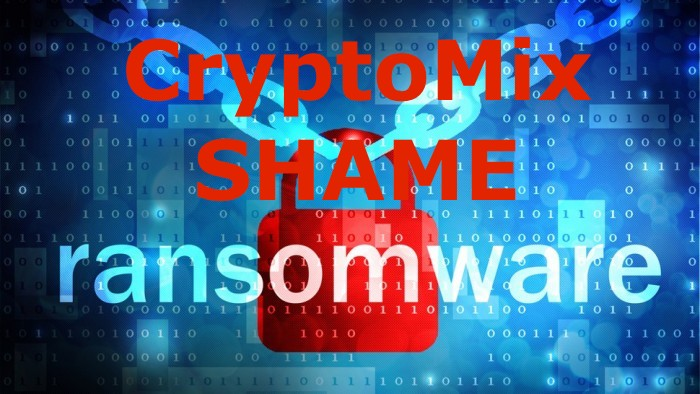 ZDNet recaps our research on CryptoMix Ransomware - ZDNet wrote an article recapping our research on a new Cryptomix ransomware tactic