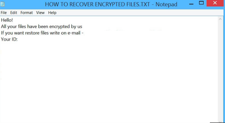 Example Rapid ransom notice .txt file