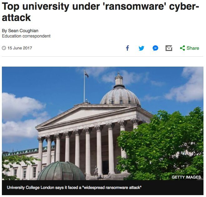 Major UK University experiences ransomware attack